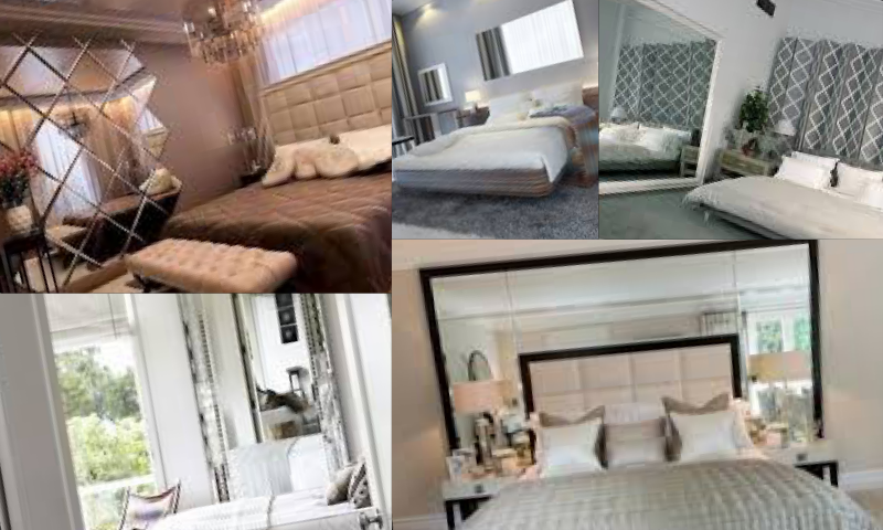 Yatak Odası Dekorasyonunda Ayna Modelleri Önerileri