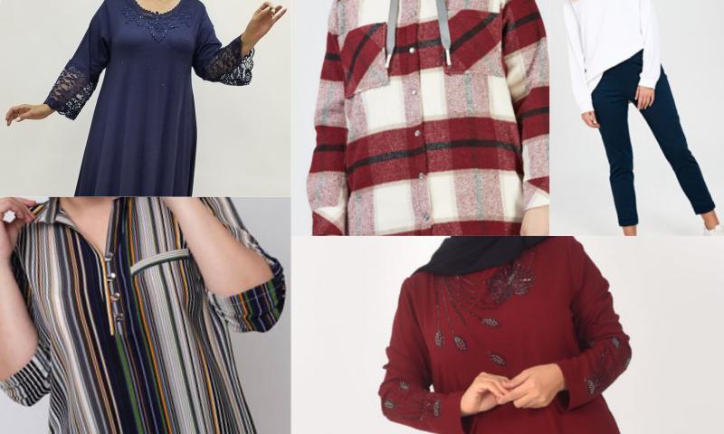 Büyük Beden Kadınların Giysi Tercihleri