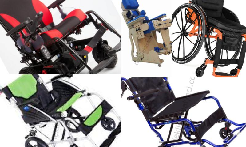 Manuel Çocuk tekerlekli Sandalye Modelleri